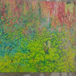panorama, 4 x 11 inch, vivek choudhary,paintings,abstract paintings,paintings for dining room,paintings for living room,paintings for bedroom,paintings for office,paintings for hotel,paintings for dining room,paintings for living room,paintings for bedroom,paintings for office,paintings for hotel,canvas,oil,pastel color,4x11inch,GAL0602414238