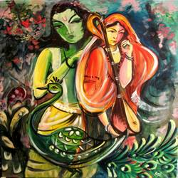 devotee- true krishna love, 29 x 35 inch, ravi patel,paintings,modern art paintings,religious paintings,radha krishna paintings,love paintings,paintings for living room,paintings for bedroom,paintings for office,paintings for hotel,paintings for hospital,paintings for living room,paintings for bedroom,paintings for office,paintings for hotel,paintings for hospital,canvas,oil,29x35inch,GAL0578914243,radha,krishna,love,lord,lordkrishna,lordradha,music,radhakrishna,peacock,coupleheart,family,caring,happiness,forever,happy,trust,passion,romance,sweet,kiss,love,hugs,warm,fun,kisses,joy,friendship,marriage,chocolate,husband,wife,forever,caring,couple,sweetheart