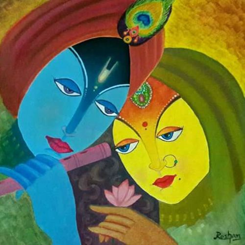 lord radha krishna, 16 x 12 inch, roshan purohit,paintings,religious paintings,radha krishna paintings,love paintings,paintings for dining room,paintings for living room,paintings for bedroom,paintings for office,paintings for kids room,paintings for hotel,paintings for kitchen,paintings for school,paintings for hospital,canvas board,oil,16x12inch,GAL0605014296,radha,krishna,love,flute,music,lordkrishna,radhakrishnaheart,family,caring,happiness,forever,happy,trust,passion,romance,sweet,kiss,love,hugs,warm,fun,kisses,joy,friendship,marriage,chocolate,husband,wife,forever,caring,couple,sweetheart