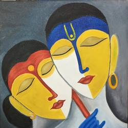 intimacy , 15 x 24 inch, rohit vadhwana,modern art paintings,radha krishna paintings,paintings for living room,paintings for bedroom,paintings for office,paintings for hotel,paintings for living room,paintings for bedroom,paintings for office,paintings for hotel,canvas,oil,15x24inch,GAL0605314298,peace,lord,love,radha,krishna,lordkrishna,lordradha,god,radhakrishna,flute