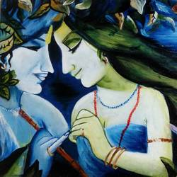 radha krishna, 12 x 16 inch, minakshi goyal,modern art paintings,paintings for living room,radha krishna paintings,love paintings,canvas,oil paint,12x16inch,GAL05951430heart,family,caring,happiness,forever,happy,trust,passion,romance,sweet,kiss,love,hugs,warm,fun,kisses,joy,friendship,marriage,chocolate,husband,wife,forever,caring,couple,sweetheart