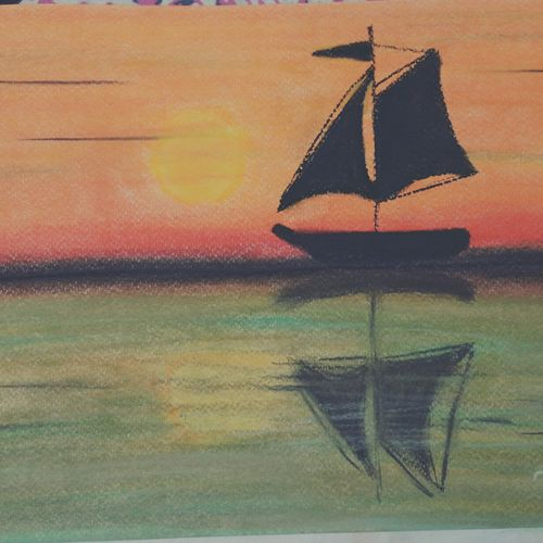 sailing, 8 x 12 inch, divya bhagat,paintings,abstract paintings,nature paintings,paintings for living room,paintings for office,paintings for hotel,paintings for school,paintings for living room,paintings for office,paintings for hotel,paintings for school,brustro watercolor paper,pastel color,8x12inch,GAL0610314397Nature,environment,Beauty,scenery,greenery