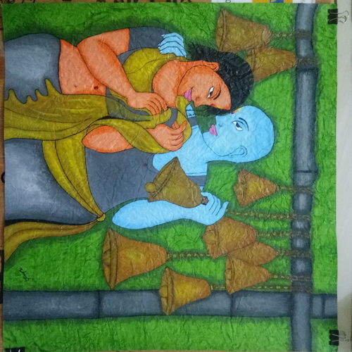 artodyssey (a kind of figurative images that express love and emotions) , 50 x 60 inch, umesh maravi,paintings,figurative paintings,religious paintings,love paintings,handmade paper,acrylic color,50x60inch,GAL0122314418heart,family,caring,happiness,forever,happy,trust,passion,romance,sweet,kiss,love,hugs,warm,fun,kisses,joy,friendship,marriage,chocolate,husband,wife,forever,caring,couple,sweetheart