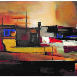 ganga ghat on canvas, 30 x 24 inch, ra foundation mumbai,abstract paintings,cityscape paintings,landscape paintings,modern art paintings,nature paintings,abstract expressionist paintings,art deco paintings,street art,contemporary paintings,paintings for dining room,paintings for living room,paintings for bedroom,paintings for office,paintings for hotel,paintings for hospital,canvas board,acrylic color,30x24inch,GAL0612614443Nature,environment,Beauty,scenery,greenery