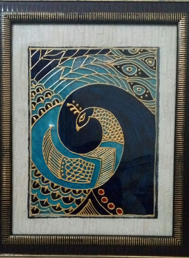 peacock, 11 x 13 inch, deepti agrawal,paintings for living room,paintings for living room,figurative paintings,modern art paintings,acrylic glass,mixed media,11x13inch,GAL0596814477