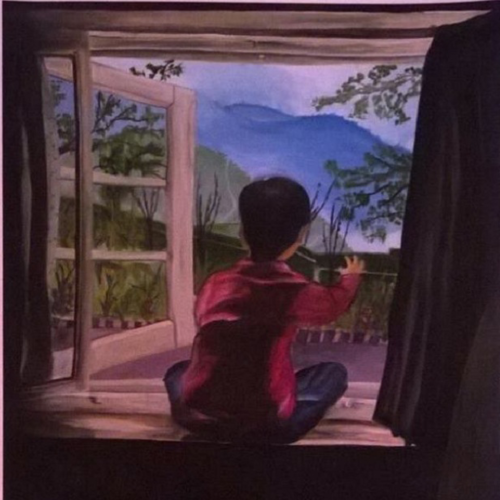 hope, 11 x 13 inch, swara srivastava,paintings,figurative paintings,landscape paintings,nature paintings,paintings for living room,paintings for office,paintings for hotel,thick paper,oil,11x13inch,GAL0617214497Nature,environment,Beauty,scenery,greenery