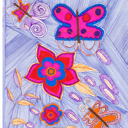 butterflies at dawn, 11 x 15 inch, dolly ahuja,drawings,conceptual drawings,figurative drawings,fine art drawings,modern drawings,surrealist drawings,paintings for dining room,paintings for living room,paintings for bedroom,paintings for hotel,drawing paper,ink color,pen color,11x15inch,GAL0618814509