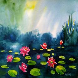 lotus, 15 x 11 inch, ravi patel,flower paintings,nature paintings,paintings for dining room,paintings for living room,paintings for bedroom,paintings for office,paintings for bathroom,paintings for hotel,paintings for dining room,paintings for living room,paintings for bedroom,paintings for office,paintings for bathroom,paintings for hotel,fabriano sheet,watercolor,15x11inch,GAL0578914514Nature,environment,Beauty,scenery,greenery