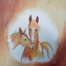 horse, 15 x 12 inch, utkarsh khare,paintings,figurative paintings,nature paintings,animal paintings,love paintings,horse paintings,paintings for living room,paintings for bedroom,paintings for kids room,paintings for hotel,paintings for living room,paintings for bedroom,paintings for kids room,paintings for hotel,paper,pastel color,pencil color,15x12inch,GAL0606114550Nature,environment,Beauty,scenery,greenery