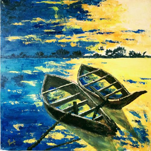 golden lily set, 39 x 22 inch, pranita a,paintings,abstract paintings,flower paintings,multi piece paintings,nature paintings,art deco paintings,contemporary paintings,paintings for dining room,paintings for living room,paintings for bedroom,paintings for office,paintings for hotel,paintings for kitchen,paintings for school,paintings for hospital,thick paper,acrylic color,39x22inch,GAL0623214573Nature,environment,Beauty,scenery,greenery