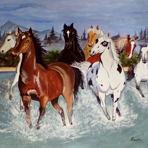 7 running horses, 30 x 26 inch, ranjita panda,paintings,horse paintings,paintings for dining room,paintings for living room,paintings for bedroom,paintings for office,paintings for bathroom,paintings for kids room,paintings for hotel,paintings for kitchen,paintings for school,paintings for hospital,paintings for dining room,paintings for living room,paintings for bedroom,paintings for office,paintings for bathroom,paintings for kids room,paintings for hotel,paintings for kitchen,paintings for school,paintings for hospital,canvas,acrylic color,30x26inch,GAL0583914609