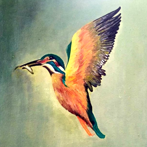 the kingfisher (bird series), 12 x 16 inch, pranita a,wildlife paintings,animal paintings,paintings for dining room,paintings for living room,paintings for bedroom,paintings for office,paintings for kids room,paintings for hotel,paintings for kitchen,paintings for school,paintings for hospital,paintings for dining room,paintings for living room,paintings for bedroom,paintings for office,paintings for kids room,paintings for hotel,paintings for kitchen,paintings for school,paintings for hospital,canvas,acrylic color,12x16inch,GAL0623214620,kingfisher,bird,colorful