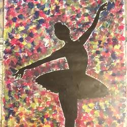 dancer, 10 x 20 inch, varsha devan,paintings,abstract paintings,contemporary paintings,paintings for living room,paintings for living room,drawing paper,acrylic color,10x20inch,GAL0639714781