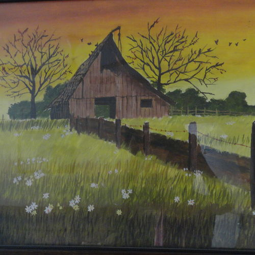 house in farm , 24 x 18 inch, jaimin  mistry,nature paintings,paintings for dining room,paintings for living room,paintings for bedroom,paintings for office,paintings for bathroom,paintings for kids room,paintings for hotel,paintings for kitchen,paintings for school,paintings for hospital,canvas,oil,24x18inch,GAL0640614785Nature,environment,Beauty,scenery,greenery