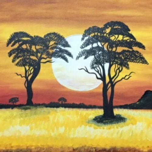tree beauty, 30 x 20 inch, richa  patel,landscape paintings,paintings for living room,paintings for bedroom,paintings for hotel,paintings for school,paintings for living room,paintings for bedroom,paintings for hotel,paintings for school,canvas,acrylic color,30x20inch,GAL0444314790