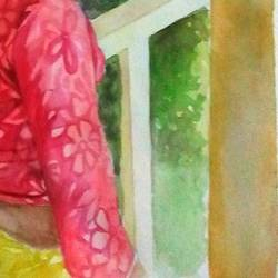 human figure composition in water color, 11 x 14 inch, shubham biswas,paintings,figurative paintings,paintings for living room,paintings for living room,drawing paper,watercolor,11x14inch,GAL0647214864