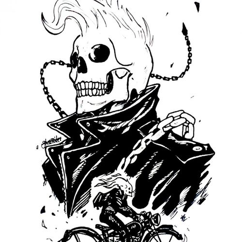 ghost rider, 8 x 12 inch, satya vishal pyla,drawings,abstract drawings,abstract expressionist drawings,documentary drawings,expressionist drawings,figurative drawings,fine art drawings,graffiti drawings,illustration drawings,modern drawings,pop art drawings,portrait drawings,street art,kids drawings,paintings for dining room,paintings for living room,paintings for bedroom,paintings for office,paintings for kids room,paintings for hotel,paper,charcoal,ink color,pen color,pencil color,photo ink,ball point pen,graphite pencil,8x12inch,GAL0651814937