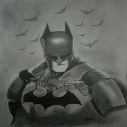 batman portrait , 12 x 17 inch, utkarsh khare,drawings,paintings for living room,paintings for bedroom,paintings for kids room,fine art drawings,portrait drawings,paintings for living room,paintings for bedroom,paintings for kids room,paper,graphite pencil,12x17inch,GAL0606114949