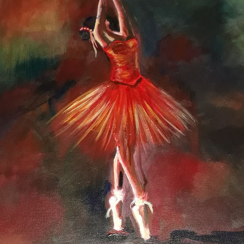 ballerina , 18 x 24 inch, sweta parmar,abstract paintings,paintings for dining room,paintings for living room,paintings for bedroom,paintings for office,paintings for bathroom,paintings for hotel,paintings for dining room,paintings for living room,paintings for bedroom,paintings for office,paintings for bathroom,paintings for hotel,canvas,acrylic color,18x24inch,GAL0655614952