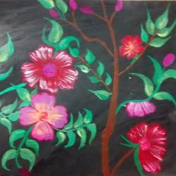 flower, 14 x 11 inch, kritika  rai,paintings,flower paintings,thick paper,acrylic color,14x11inch,GAL0656114961
