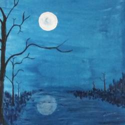 moonlight river in forest, 9 x 12 inch, sandeep kumar,paintings,wildlife paintings,paintings for dining room,paintings for living room,paintings for bedroom,paintings for office,paintings for bathroom,paintings for kids room,paintings for hotel,paintings for kitchen,paintings for school,paintings for dining room,paintings for living room,paintings for bedroom,paintings for office,paintings for bathroom,paintings for kids room,paintings for hotel,paintings for kitchen,paintings for school,canvas,acrylic color,9x12inch,GAL0657414975