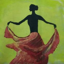 dancing lady, 9 x 12 inch, sandeep kumar,paintings,modern art paintings,paintings for dining room,paintings for living room,paintings for bedroom,paintings for office,paintings for bathroom,paintings for hotel,paintings for dining room,paintings for living room,paintings for bedroom,paintings for office,paintings for bathroom,paintings for hotel,canvas,acrylic color,pen color,9x12inch,GAL0657414980