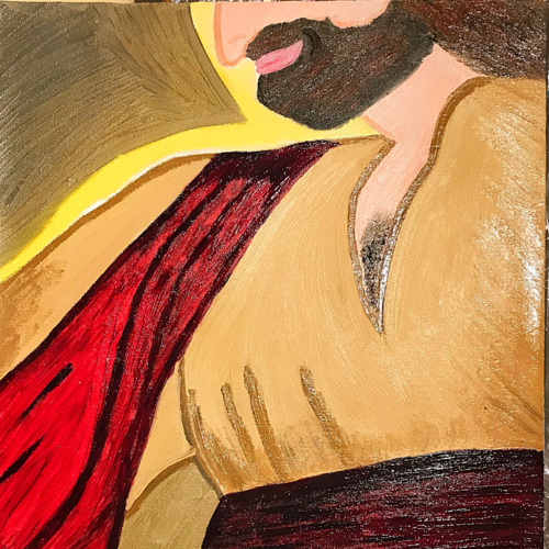 jesus of nazareth vision, 18 x 24 inch, renee  biswas,religious paintings,realistic paintings,paintings for living room,paintings for office,paintings for school,figurative paintings,conceptual paintings,portrait paintings,impressionist paintings,photorealism paintings,photorealism,pop art paintings,realism paintings,street art,surrealist paintings,paintings for dining room,paintings for kids room,paintings for hotel,paintings for kitchen,canvas,oil,acrylic color,18x24inch,GAL0657714982