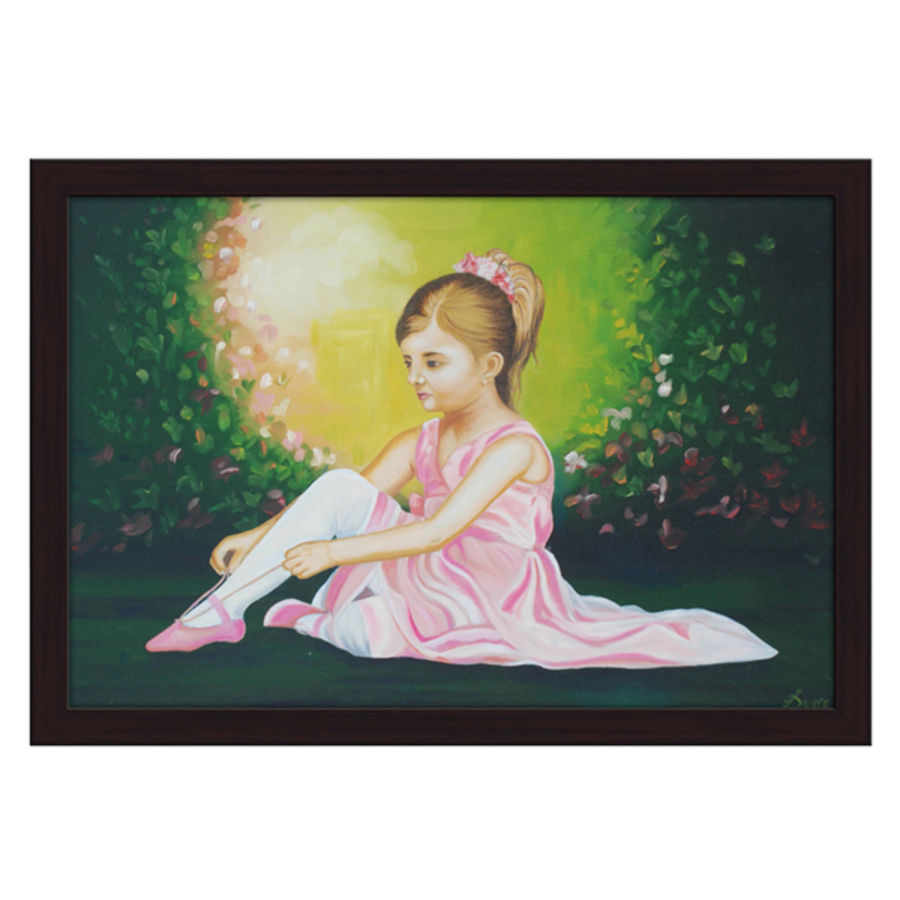 baby girl, 36 x 24 inch, jyothi katkuri,landscape paintings,still life paintings,nature paintings,realistic paintings,paintings for kids room,paintings for hotel,paintings for school,paintings for kids room,paintings for hotel,paintings for school,canvas board,oil,36x24inch,GAL0659915048Nature,environment,Beauty,scenery,greenery