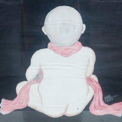 i'm alone, 19 x 21 inch, rajendrakumar mani,figurative drawings,paintings for kids room,thick paper,pencil color,19x21inch,GAL0654415118