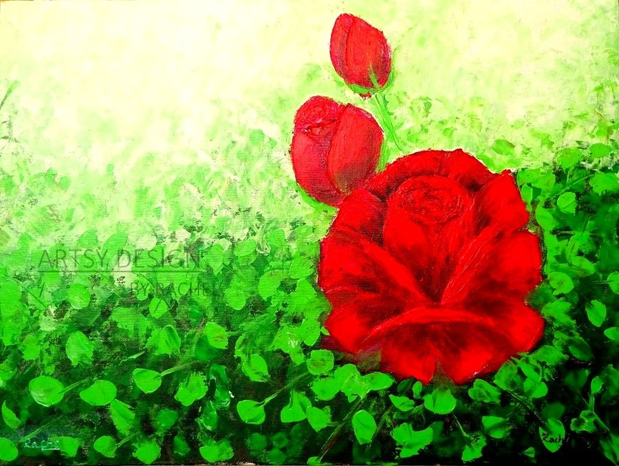 the love blosssom, 24 x 18 inch, rachel a,paintings,flower paintings,still life paintings,nature paintings,paintings for dining room,paintings for living room,paintings for bedroom,paintings for hotel,paintings for hospital,paintings for dining room,paintings for living room,paintings for bedroom,paintings for hotel,paintings for hospital,canvas board,acrylic color,24x18inch,GAL0659215166Nature,environment,Beauty,scenery,greenery