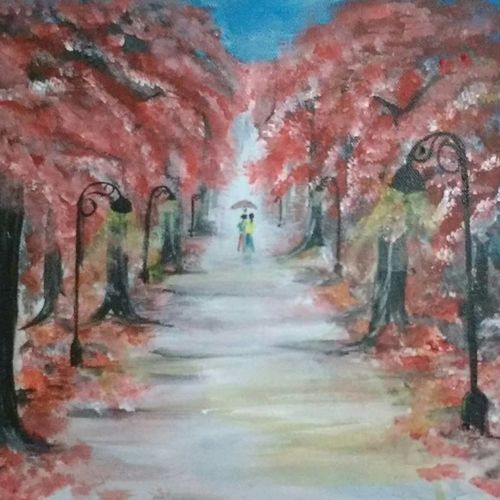 blossom of love, 12 x 12 inch, rakesh  patil,paintings,love paintings,paintings for living room,paintings for bedroom,paintings for office,paintings for living room,paintings for bedroom,paintings for office,canvas board,acrylic color,12x12inch,GAL0477915308heart,family,caring,happiness,forever,happy,trust,passion,romance,sweet,kiss,love,hugs,warm,fun,kisses,joy,friendship,marriage,chocolate,husband,wife,forever,caring,couple,sweetheart
