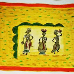 tribal flowers sellers, 11 x 14 inch, pamela rebecca vincent,paintings,modern art paintings,paintings for dining room,paintings for living room,paintings for bedroom,paintings for office,paintings for bathroom,paintings for kids room,paintings for hotel,paintings for kitchen,paintings for school,paintings for hospital,paintings for dining room,paintings for living room,paintings for bedroom,paintings for office,paintings for bathroom,paintings for kids room,paintings for hotel,paintings for kitchen,paintings for school,paintings for hospital,thick paper,pen color,pencil color,poster color,graphite pencil,11x14inch,GAL0661315323