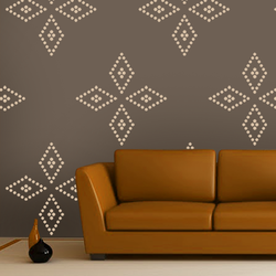 wall stencil:beautiful modern design wall stencil, 1 stencil (size 12x12 inches) | reusable | diy, 12 x 12 inch, wall stencil designs,12x12inch,ohp plastic sheets,flower designs,plastic,GAL0115349,GAL0115349,GAL0115349,GAL0115349