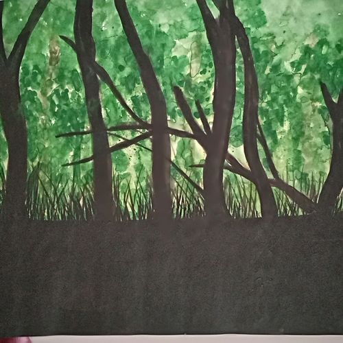 dark green forest, 17 x 12 inch, mukesh tanwar,wildlife paintings,nature paintings,paintings for dining room,paintings for living room,paintings for bedroom,paintings for office,paintings for hotel,paintings for dining room,paintings for living room,paintings for bedroom,paintings for office,paintings for hotel,thick paper,watercolor,17x12inch,GAL0671415406Nature,environment,Beauty,scenery,greenery