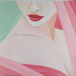 dil44, 12 x 13 inch, dilpreet honey,paintings,portrait paintings,thick paper,oil,12x13inch,GAL0677615488