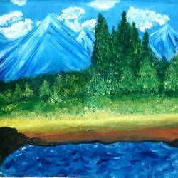 beautiful alps, 12 x 11 inch, praveena shree egambaram,paintings,landscape paintings,nature paintings,paintings for dining room,paintings for living room,paintings for bedroom,paintings for office,paintings for bathroom,paintings for kids room,paintings for hotel,paintings for hospital,paintings for dining room,paintings for living room,paintings for bedroom,paintings for office,paintings for bathroom,paintings for kids room,paintings for hotel,paintings for hospital,canvas,oil,12x11inch,GAL0681415555Nature,environment,Beauty,scenery,greenery