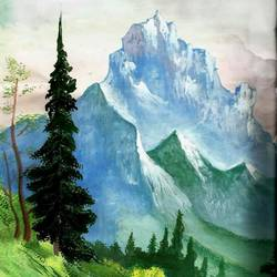 scenary , 24 x 36 inch, sujata gaikwad,nature paintings,canvas,watercolor,24x36inch,GAL0688115562Nature,environment,Beauty,scenery,greenery