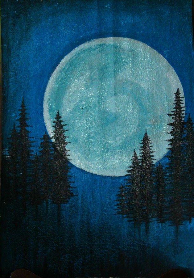 and the moon is the only light, 16 x 21 inch, prax rao,paintings,landscape paintings,minimalist paintings,love paintings,paintings for dining room,paintings for living room,paintings for bedroom,paintings for office,paintings for bathroom,paintings for kids room,paintings for hotel,paintings for kitchen,paintings for school,paintings for hospital,thick paper,oil,16x21inch,GAL0689515659