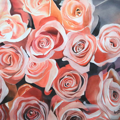 roses, 19 x 22 inch, amrita das,paintings for living room,love paintings,flower paintings,paintings for bedroom,paintings for office,canvas,oil,19x22inch,GAL050157heart,family,caring,happiness,forever,happy,trust,passion,romance,sweet,kiss,love,hugs,warm,fun,kisses,joy,friendship,marriage,chocolate,husband,wife,forever,caring,couple,sweetheart