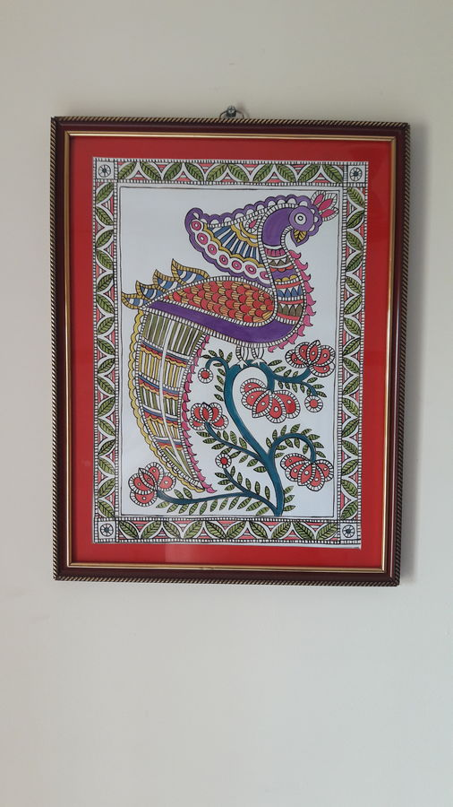 madhubani paintings peacock, 14 x 22 inch, deb roy,figurative paintings,folk art paintings,modern art paintings,nature paintings,paintings for dining room,paintings for living room,paintings for bedroom,paintings for office,paintings for hotel,paintings for kitchen,paintings for school,paintings for hospital,paintings for dining room,paintings for living room,paintings for bedroom,paintings for office,paintings for hotel,paintings for kitchen,paintings for school,paintings for hospital,madhubani paintings,thick paper,ink color,14x22inch,GAL0698115708Nature,environment,Beauty,scenery,greenery