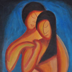 love, 16 x 19 inch, smita   asole,paintings,love paintings,paintings for bedroom,paintings for bedroom,canvas,acrylic color,16x19inch,GAL0691215798heart,family,caring,happiness,forever,happy,trust,passion,romance,sweet,kiss,love,hugs,warm,fun,kisses,joy,friendship,marriage,chocolate,husband,wife,forever,caring,couple,sweetheart