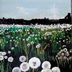 flowers, 22 x 33 inch, mahesh bommanalli,landscape paintings,paintings for office,canvas,acrylic color,22x33inch,GAL03641582