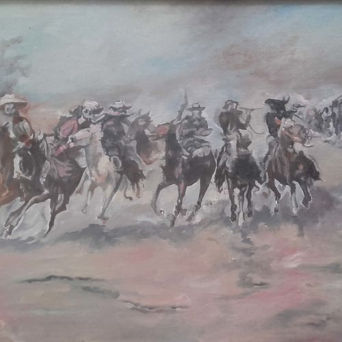 cowboys, 20 x 24 inch, amit kumar sinha,paintings,landscape paintings,paintings for dining room,paintings for living room,paintings for bedroom,paintings for office,paintings for hotel,paintings for school,paintings for dining room,paintings for living room,paintings for bedroom,paintings for office,paintings for hotel,paintings for school,canvas,oil,20x24inch,GAL0691315829