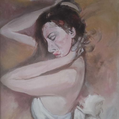 a beautiful girl, 24 x 30 inch, amit kumar sinha,paintings,portrait paintings,paintings for dining room,paintings for living room,paintings for bedroom,paintings for office,paintings for hotel,paintings for school,paintings for dining room,paintings for living room,paintings for bedroom,paintings for office,paintings for hotel,paintings for school,canvas,oil,24x30inch,GAL0691315830