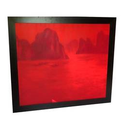 halong bay , 60 x 53 inch, louise ascan,paintings,cityscape paintings,landscape paintings,paintings for living room,paintings for office,paintings for hotel,paintings for living room,paintings for office,paintings for hotel,canvas,mixed media,60x53inch,GAL0706015862