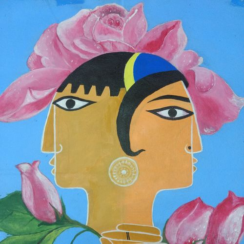 love, 21 x 18 inch, gaurab  bose,paintings,conceptual paintings,paintings for dining room,paintings for living room,paintings for bedroom,paintings for office,paintings for hotel,paintings for hospital,canvas,acrylic color,21x18inch,GAL0655015908