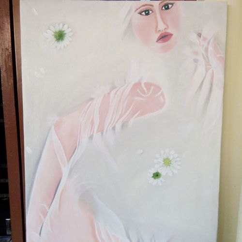 incarnation, 20 x 30 inch, swapnil  asthana ,paintings,figurative paintings,paintings for bedroom,canvas,oil,20x30inch,GAL0704616039