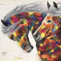 success , 30 x 18 inch, manvir  kaur,wildlife paintings,landscape paintings,modern art paintings,nature paintings,art deco paintings,paintings for living room,horse paintings,canvas,acrylic color,fabric,30x18inch,GAL0725016125Nature,environment,Beauty,scenery,greenery