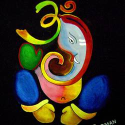 lord ganesha art, 13 x 17 inch, prabir barman,paintings,modern art paintings,religious paintings,ganesha paintings,paintings for living room,paintings for bedroom,paintings for office,paintings for hotel,paintings for school,paper,watercolor,13x17inch,GAL0625116177,vinayak,ekadanta,ganpati,lambodar,peace,devotion,religious,lord ganesha,lordganpati,ganpati bappa morya,ganesh chaturthi,ganesh murti,elephant god,religious,lord ganesh,ganesha,om,hindu god,shiv parvati, putra,bhakti,blessings,aashirwad,pooja,puja,aarti,ekdant,vakratunda,lambodara,bhalchandra,gajanan,vinayak,prathamesh,vignesh,heramba,siddhivinayak,mahaganpati,omkar,mushak,mouse,ladoo,modak
