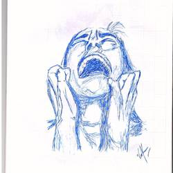 emotions, 8 x 13 inch, vasu kumar,drawings,expressionist drawings,paintings for living room,paper,pen color,8x13inch,GAL0730416223